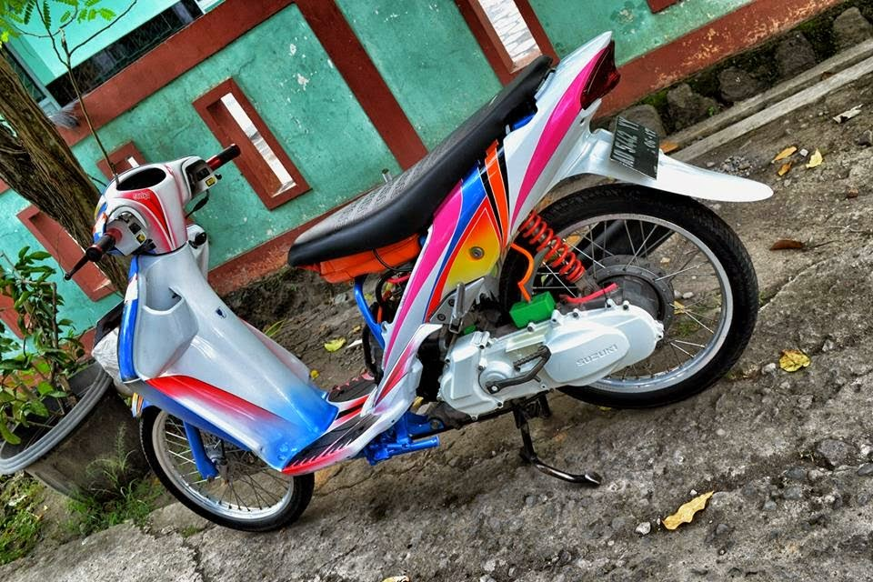 suzuki spin modifikasi ring 17