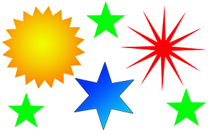 Hacer estrellas con Potoshop