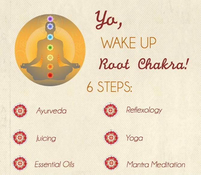 Awaken your root chakra in 6 easy steps