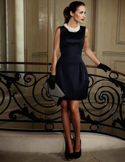 Complementos para un vestido negro palabra de honor