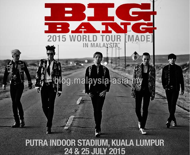 Big Bang Live Concert Malaysia 2015