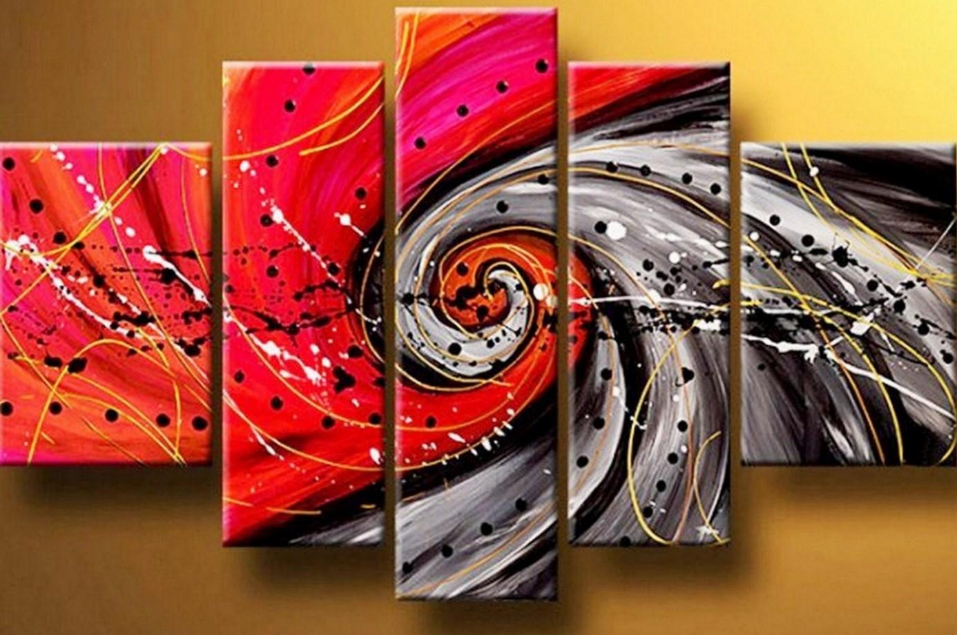 Pintura moderna y fotograf a art stica pinturas al leo - Como pintar un cuadro moderno ...