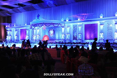 Reception venue - (27) - Ram Charan Teja's Upasana Kamineni Reception Pics