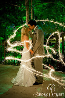 Creative Wedding Sparklers