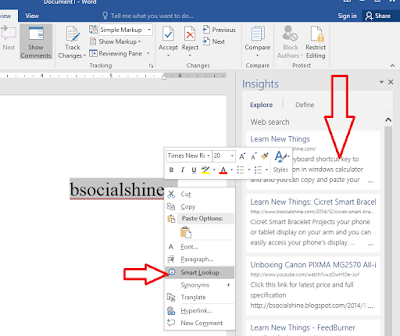 MS Word 2016: Best New Feature,new feature of office 2016,new function of word 2016,Best New Features of Word 2016,new function,word 2016,new feature of word,new feature in word 2016,office 2016 new feature,Smart lookup,Share,Tell me what you want to do,Store and Add-ins,Online Videos,Online picture,Send email,PDF..,new best feature,word 2016 feature,send email,pdf create,cool feature,new option,keys,shortcut key