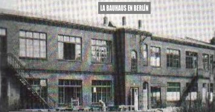 Escuela de la bauhaus 7 la bauhaus de berl n 1 for Bauhaus berlin edificio