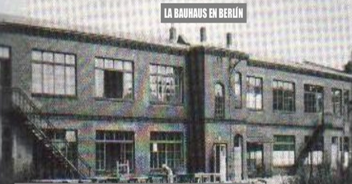 Escuela De La Bauhaus 7 La Bauhaus De Berl N 1
