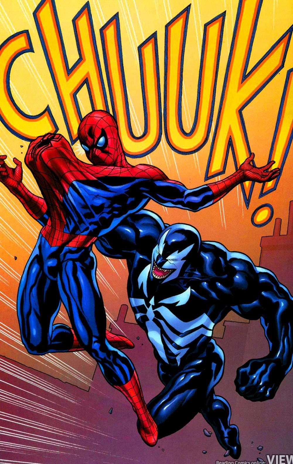 Человек паук и веном комикс 6 фотография