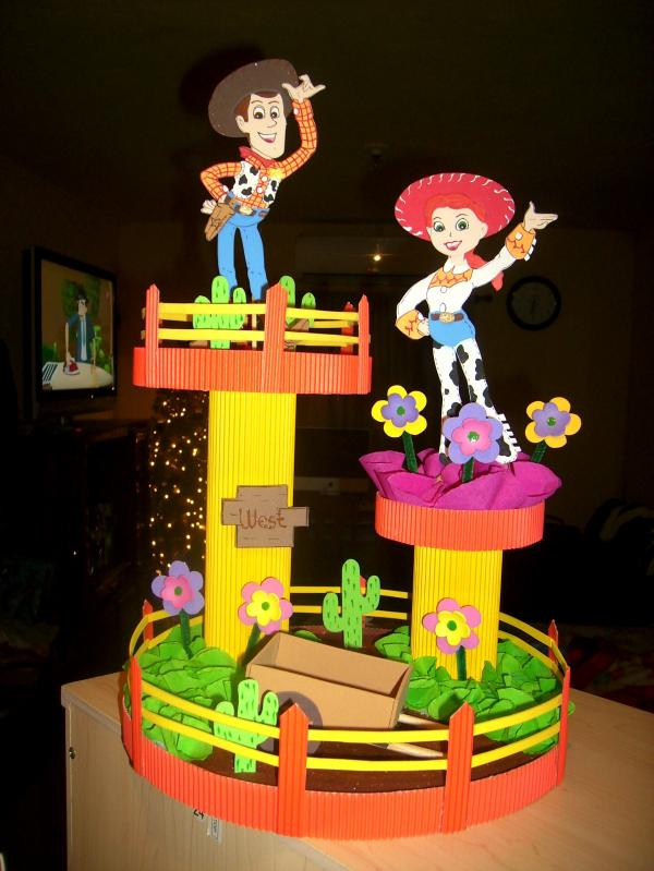 BLOG DE FIESTAS: Centros de mesa de Toy Story