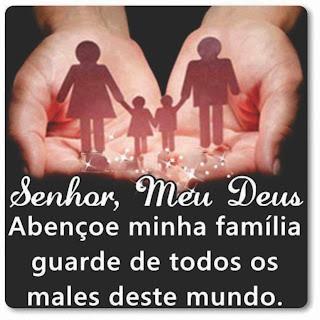 Bible Família Abençoada Por Deus