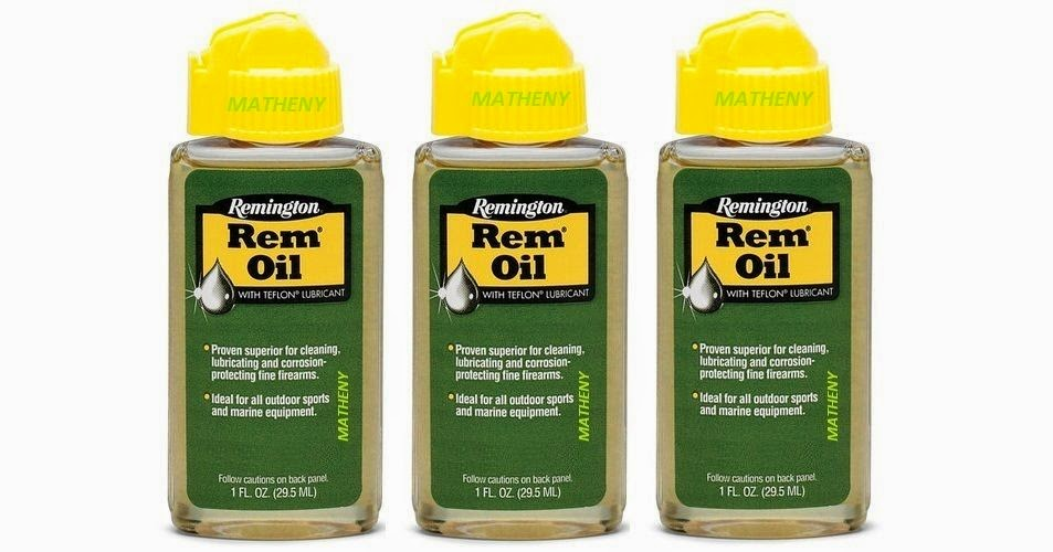 REM OIL 1oz Remington Lubricant w/Teflon ~ Gun Firearm Cleaning Remoil 1 oz