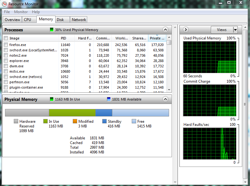 how to change task manager view in windows 7