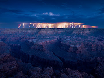 Tormenta en el Gran Cañón / Storm in Grand Canyon