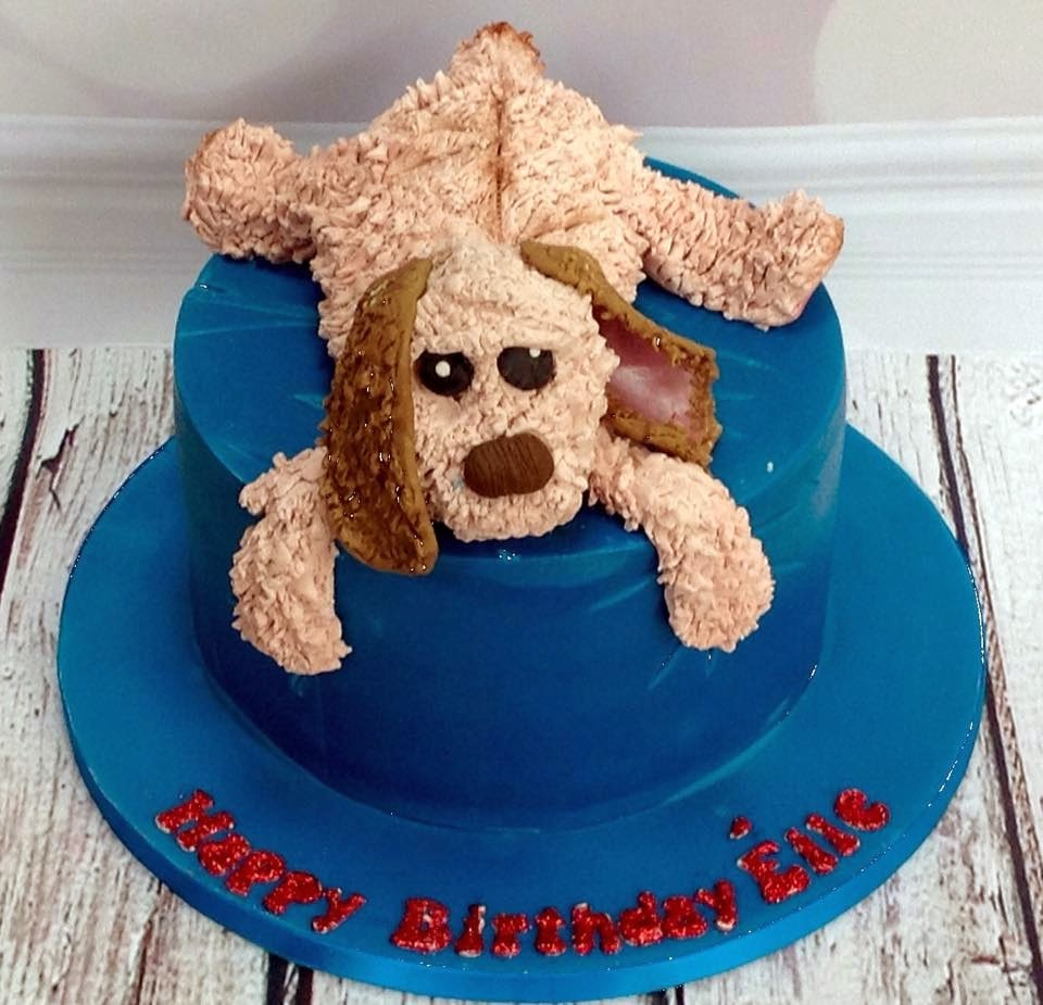 The Perfectionist Confectionist Eile Toy Dog Cake
