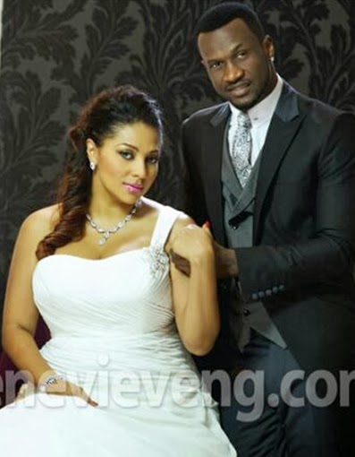 peter okoye lola white wedding