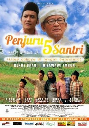 Film Penjuru 5 Santri 2015 di (Bioskop)