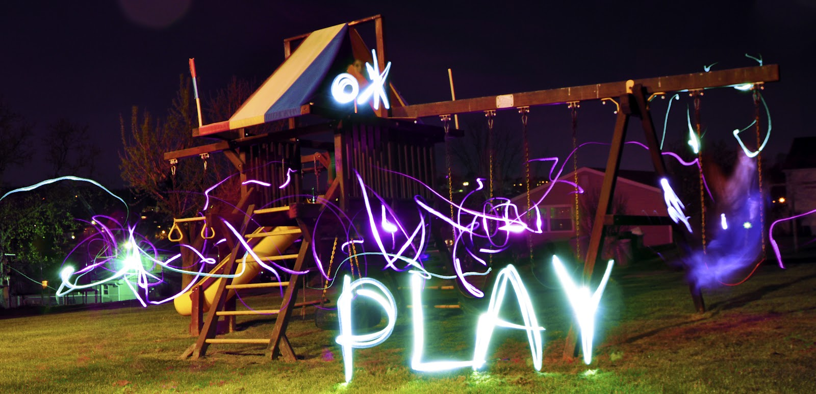 writing with light photography