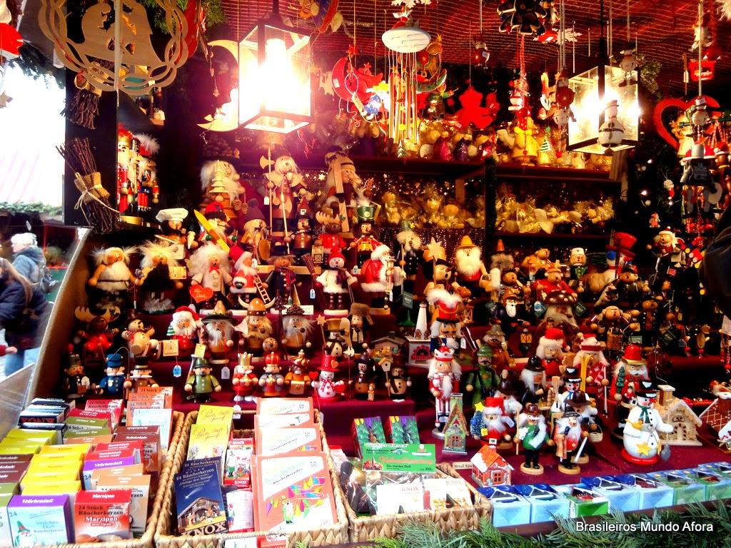 Mercado de Natal em Nuremberg, Alemanha