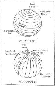 Mapamundi, planisferio en blanco y negro
