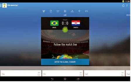 fifa app - aplikasi android untuk update berita piala dunia