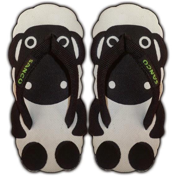 Sandal Sancu Motif Sheep