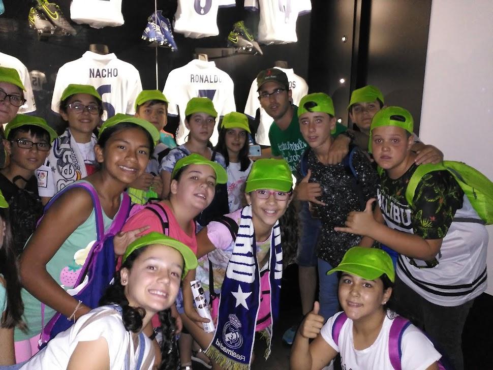 En el Bernabéu con Fran