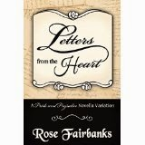 Book cover; Letters from the Heart - Rose Fairbanks