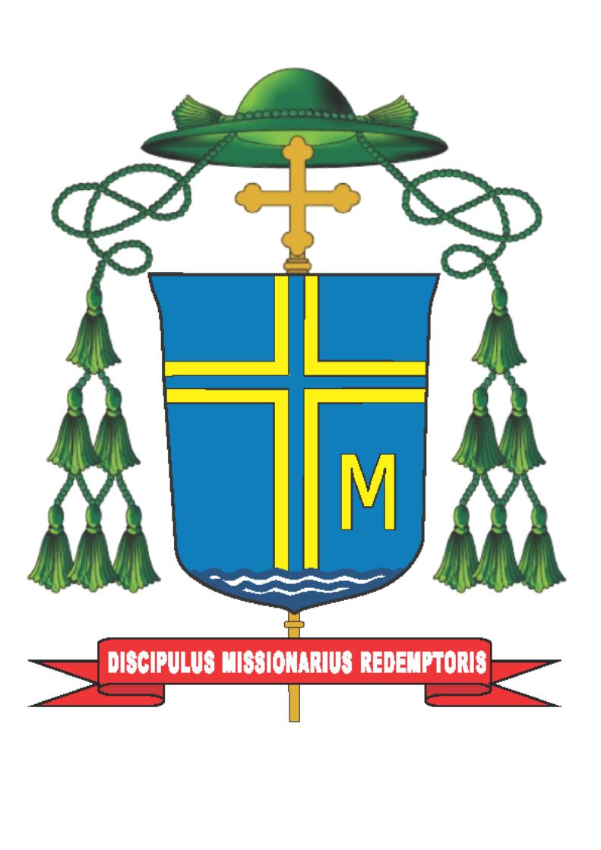 Brasão episcopal de Dom Marcos Piatek