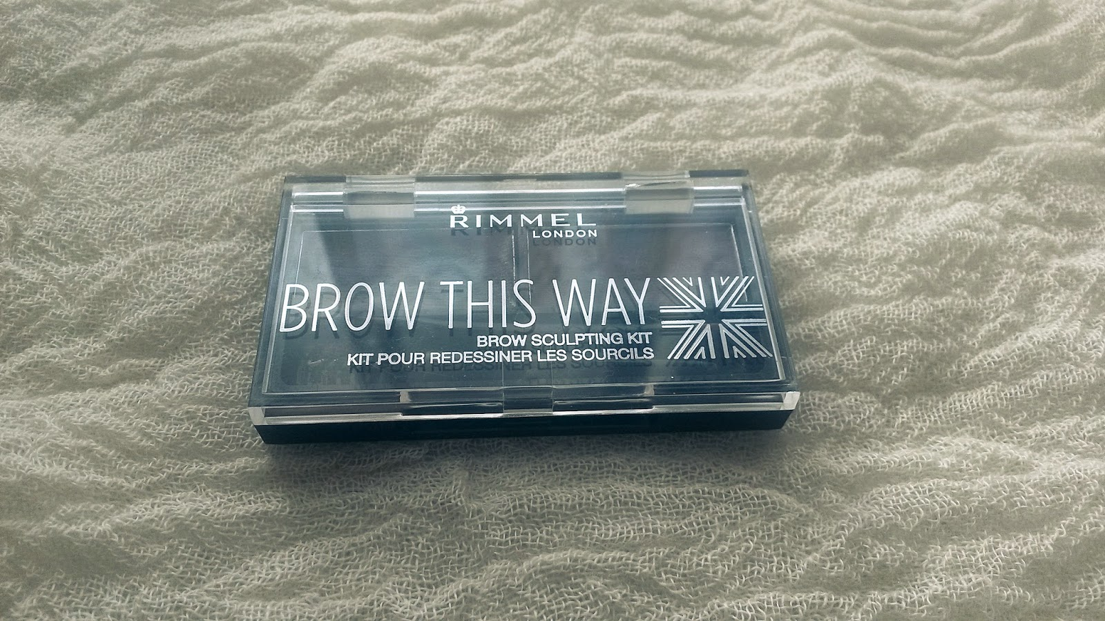 Rimmel- Brow This Way set na úpravu obočia :)