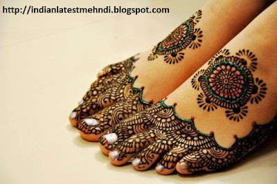 indian glitter mehndi designs 2013