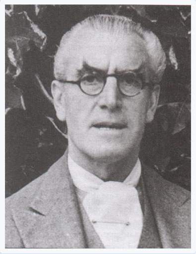 Dr. Harold Dearden ca 1940s.