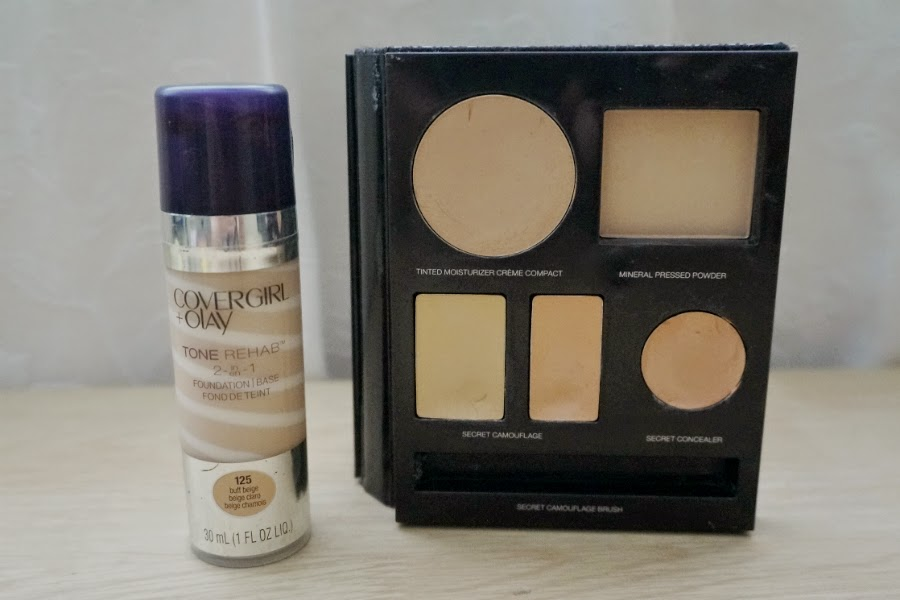 Cover Girl + Olay Tone Rehab and Laura Mercier Face Palette