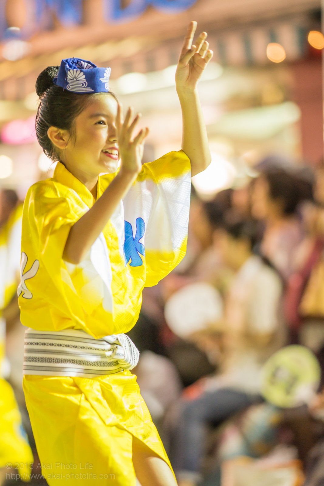 三鷹阿波踊り、菊水会菊水連の子供踊り