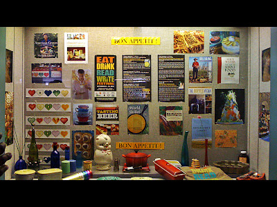 Eat, Drink, Read, Write display at Birmingham Public Library