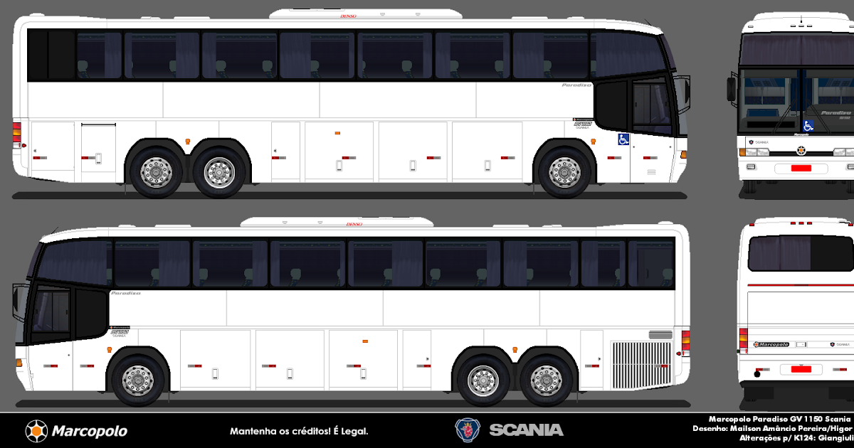 Go bus em branco paradiso gv 1150 k124 for Table 52 go bus