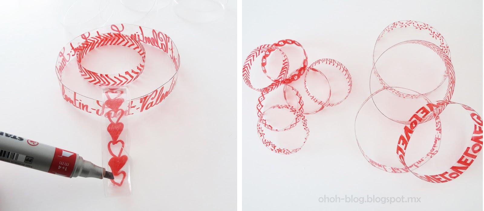 Lindo colgante de corazones manualidades para san valentin un mundo de manualidades - Manualidades para hacer en san valentin ...