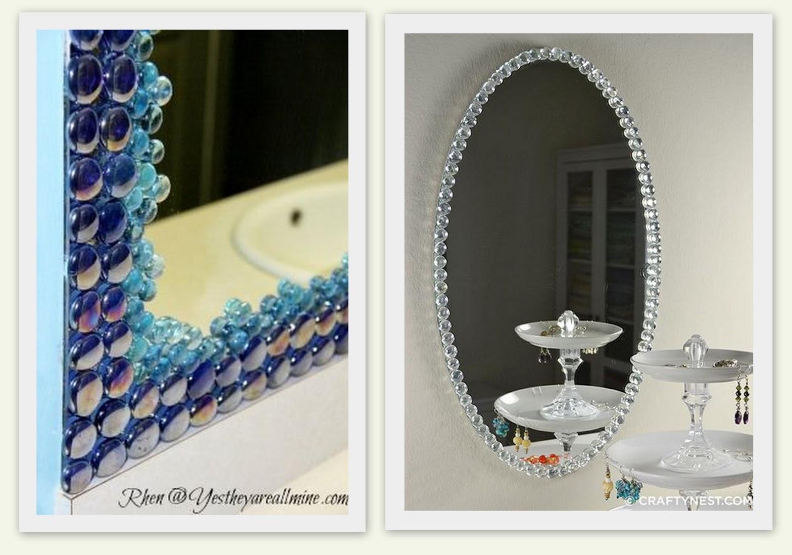 Reformar espelho do banheiro 4 idéias BBB *Decoração e  #2D3D68 1600x1122 Banheiro Bbb