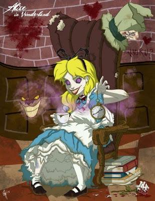 tokoh dongeng kartun horor