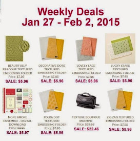 Items on Sale!  Jan 27 to Feb 2
