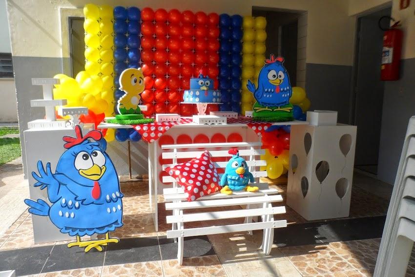 Galinha Pintadinha Painel de Balões