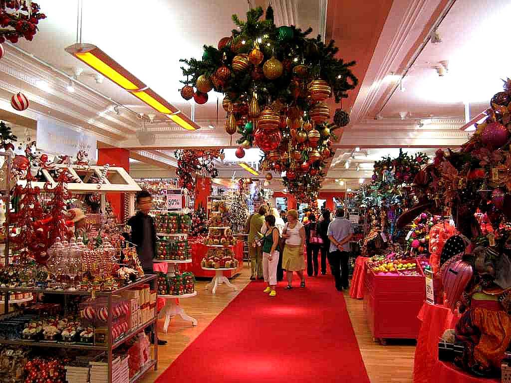 Decoration Noel Magasin Londres