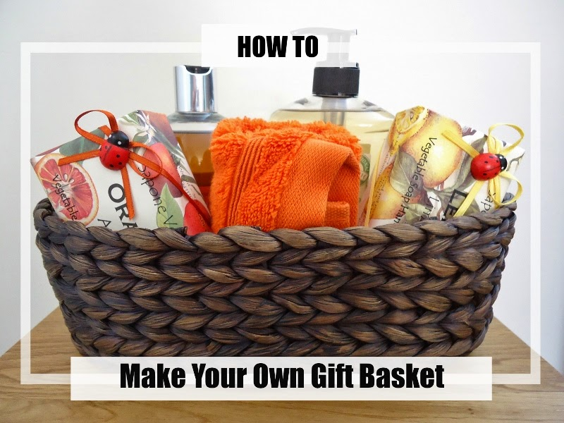 Dinki Dots Craft: Make Your Own Gift Basket - How To