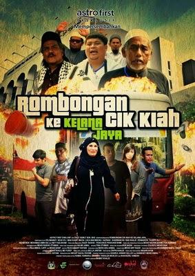 Rombongan Cik Kiah Ke Kelana Jaya sinopsis dan Full Movie
