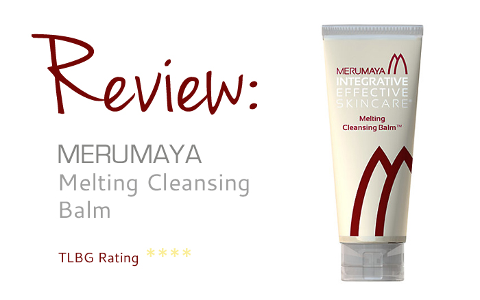 Review: Merumaya Melting Cleansing Balm