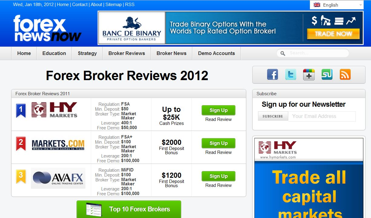 Best forex websites in india