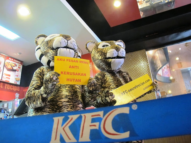 KFC terus ditekan stop pakai produk APP