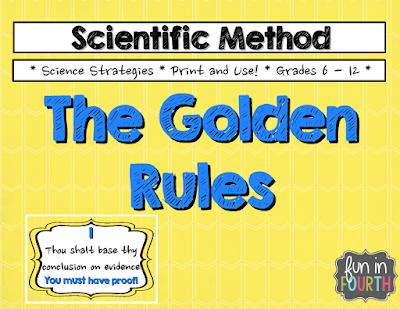 https://www.teacherspayteachers.com/Product/Scientific-Method-The-Golden-Rules-1370489