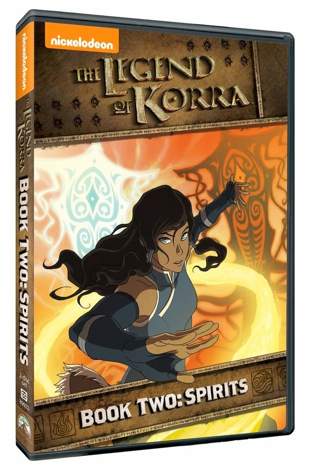 Legend of Korra Book 2 DVD