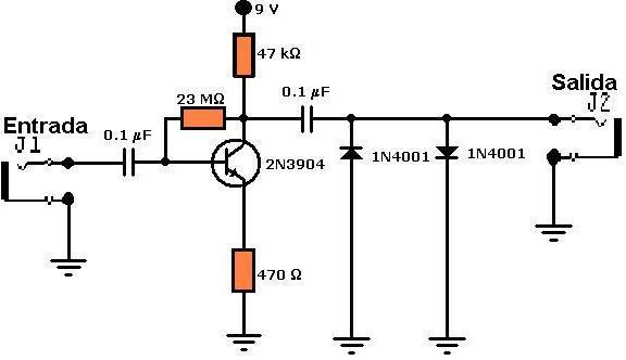 Circuito Guitarra Electrica : Amplificadores de audio distorsionadores para guitarras