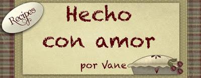 Hecho con Amor por Vane